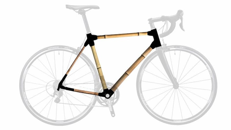 Road Frame Kit - Build your own bamboo bike [Road Frame]